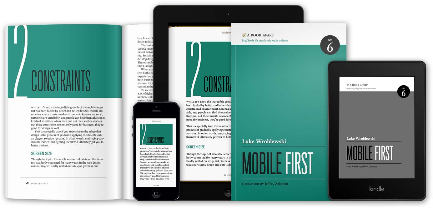 Mobile First by Luke Wroblewski