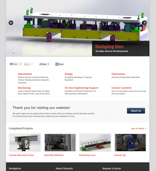 Camtech Manufacturing Solutions