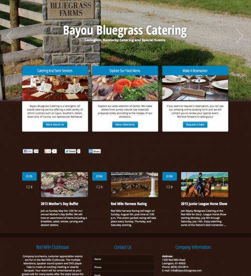Bayou Bluegrass Catering