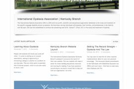 International Dyslexia Association Kentucky Branch