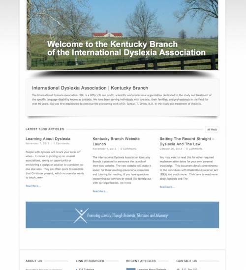 International Dyslexia Association Kentucky Branch