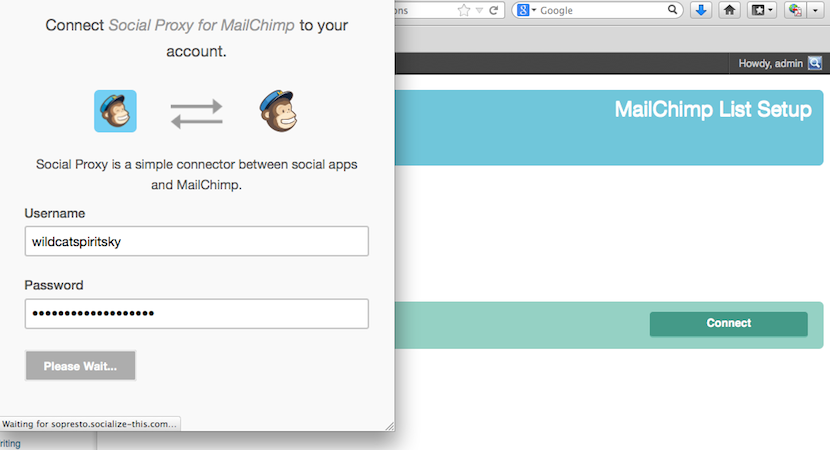 MailChimp List Subscribe Form WordPress Plugin Update