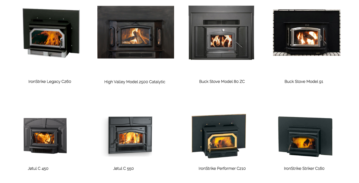 Wood Energy Warehouse Fireplace Inserts