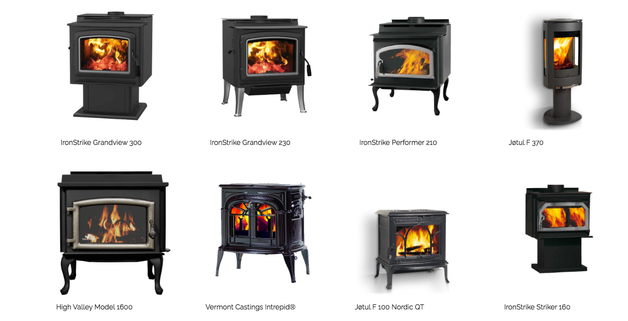 Wood Energy Warehouse Wood Stoves