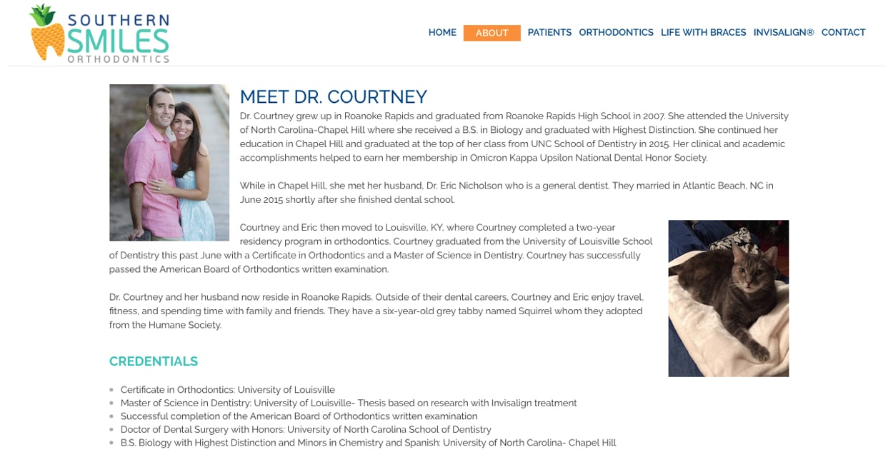 Dr. Courtney Southern Smiles Orthodontics