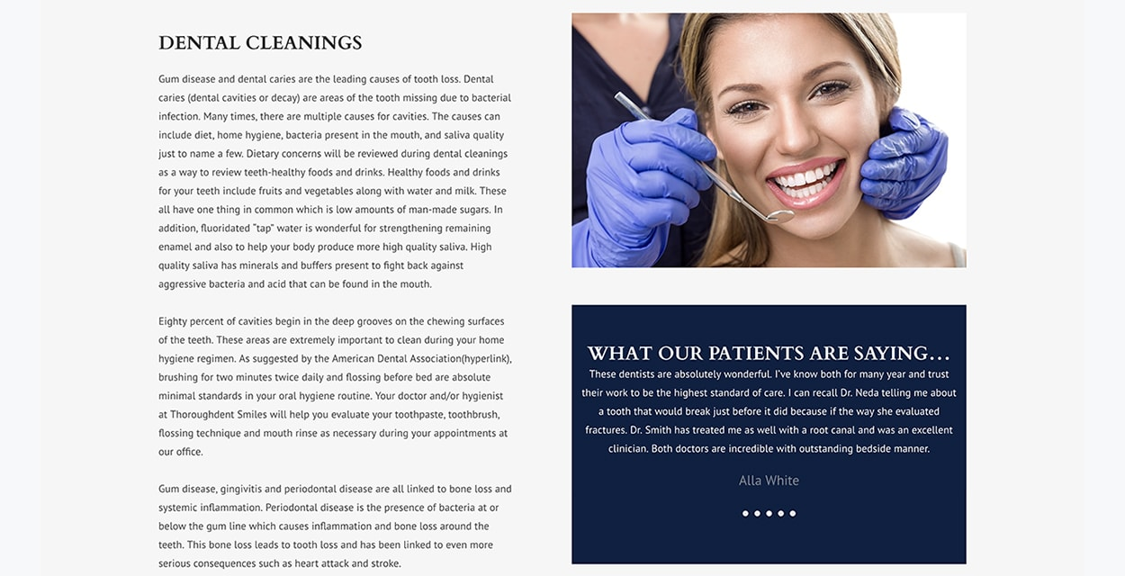 ThoroughDent Smiles Georgetown KY Dental Cleanings