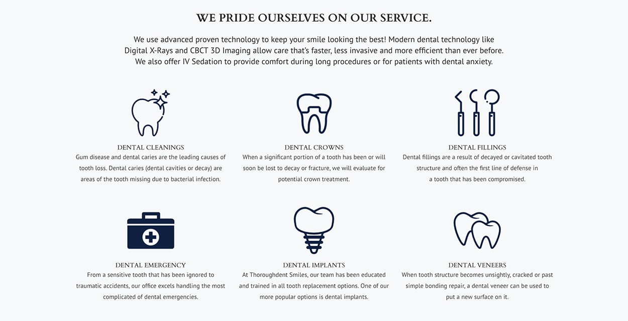 ThoroughDent Smiles Georgetown KY Dentist Services